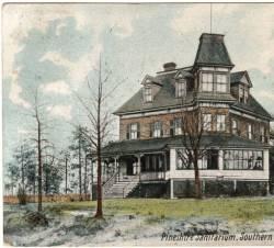 Pineshire Sanitarium Southern Pines North Carolina