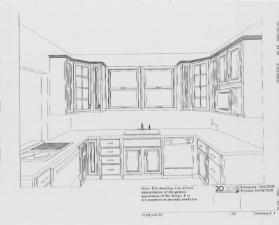 bungalow 404 kitchen plan