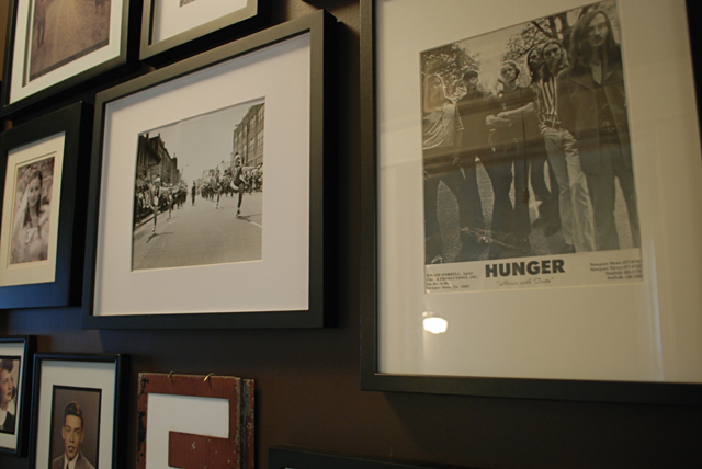 bungalow 404 gallery wall