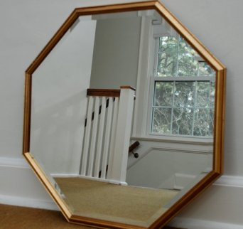 TEOT vintage gold mirror