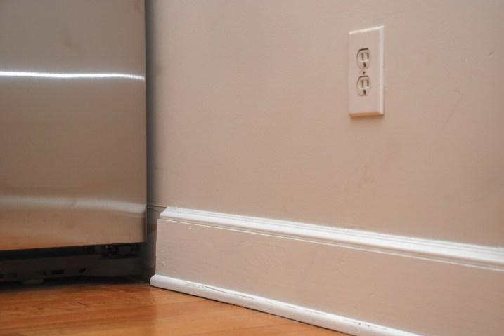 fridge baseboard
