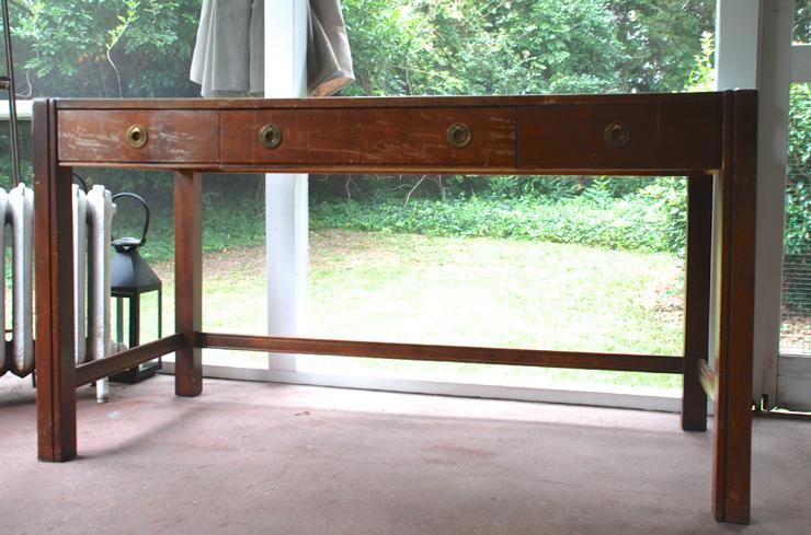 sarah desk before