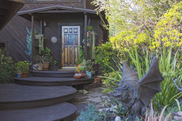 Dream House entrance