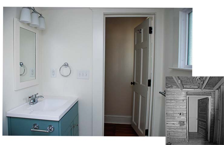 Grout AptA Bath Before After