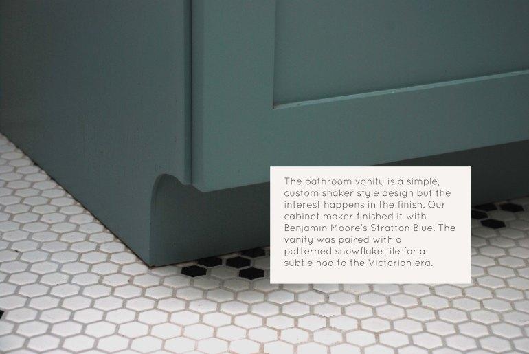 Grout AptA Bath Vanity detail