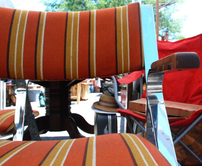 flea chrome chair