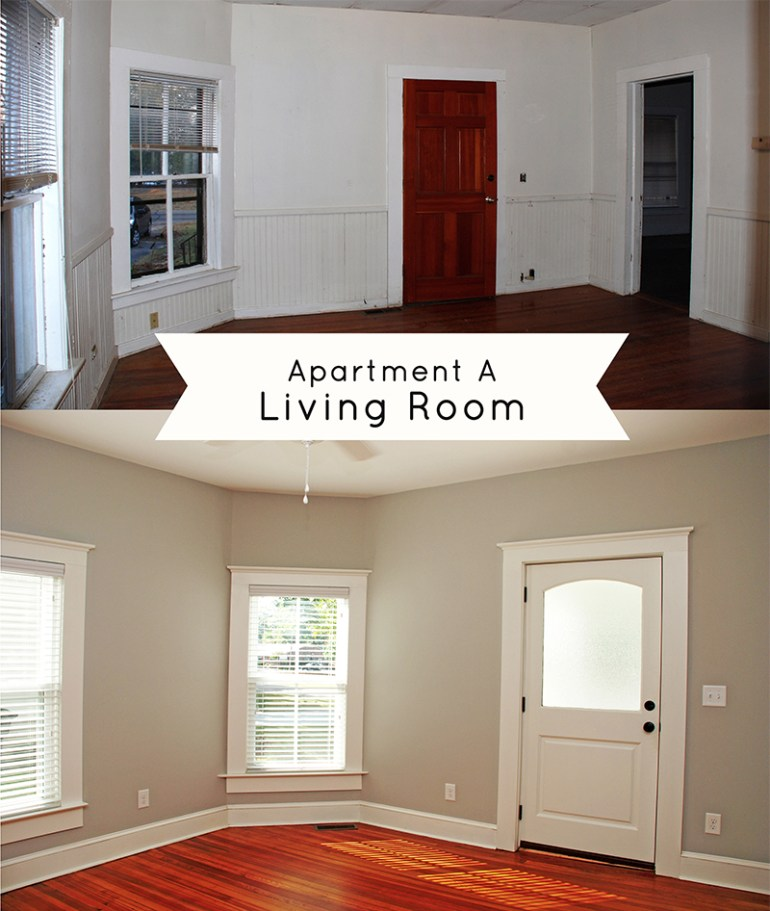 Grout Cottage Apartment A Living Room