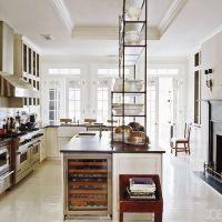 Trends: Metal Shelves in Kitchens