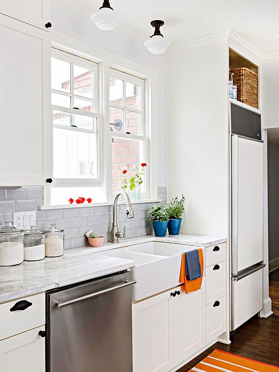 White Kitchen Stainless Appliances white appliances on a comeback? | the estate of things