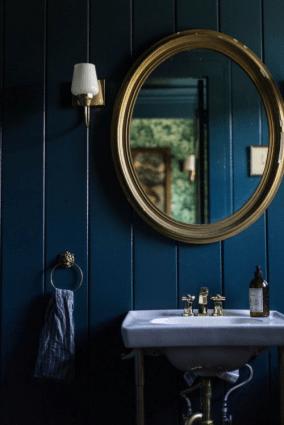 moody blue paint
