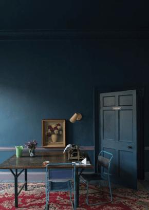 more moody blue dark paint