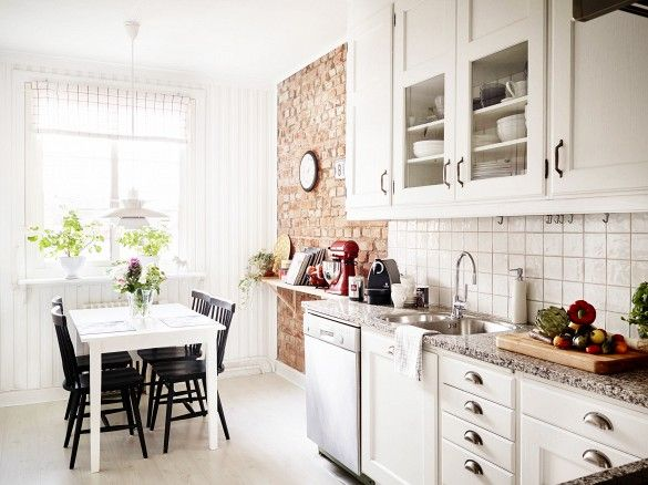 white appliance swedish home