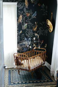 Fantasy Nursery Rattan crib