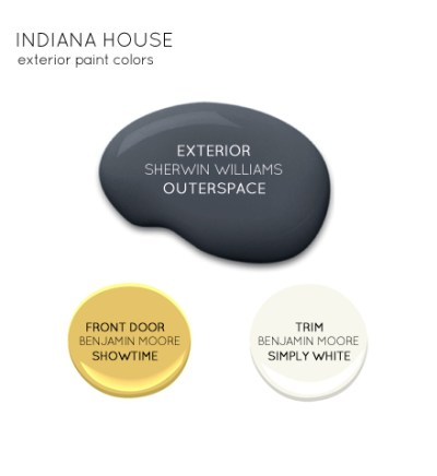 Indiana exterior paint color