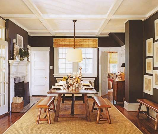 Formal Dining Rooms Turn Casual