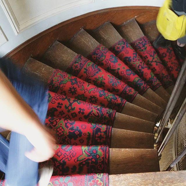 Stairs in Paris Flat