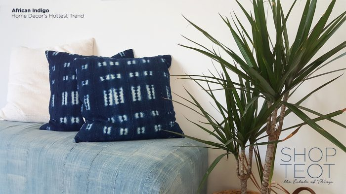african indigo by the estate of things for shop teot