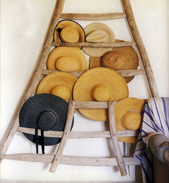 hats ladder