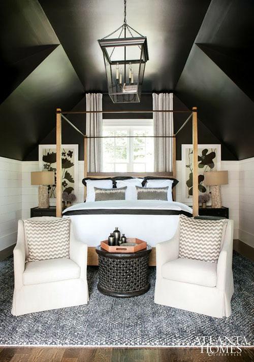 black-ceilings-vaulted-ceiling-via-atlanta-homes