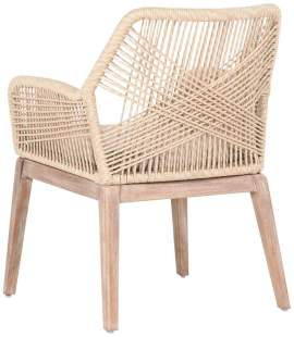 loom-arm-chair Woven Dining Chairs Becki Owens