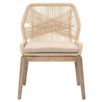 loom-arm-chair-front Woven Dining Chairs Becki Owens