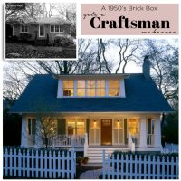 Turn a Brick Box House into a Craftsman