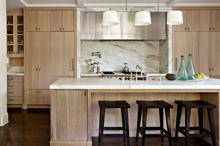 The Return of the Wooden Kitchen Cabinet