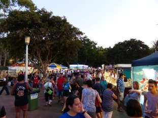 NIght markets at MIndil Beach