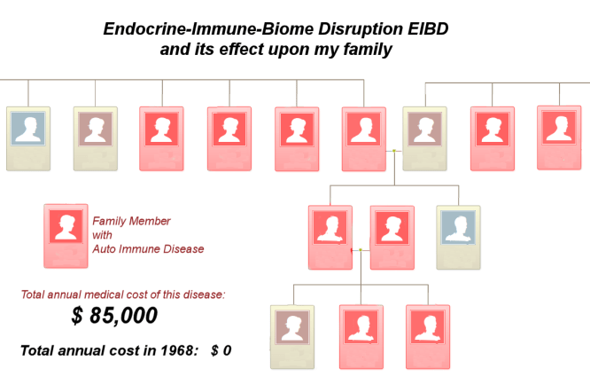 Endocrine-Immune Disruption on my family