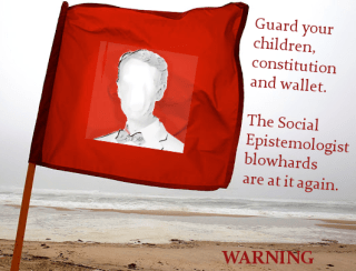 Gale Warning Flag of Social Epistemology