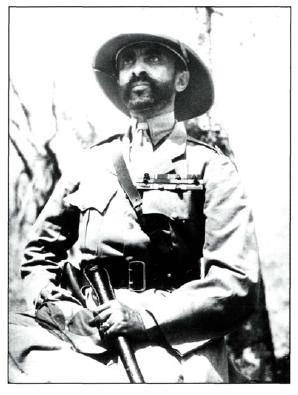 Ethiopian Emperor Haile Selassie returns to his capital