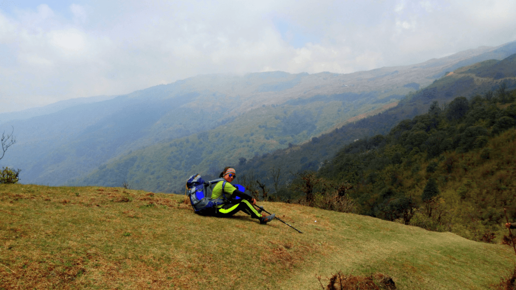 resting time trek to Sandakphu