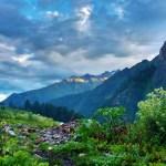 Kheerganga in the Himalayas