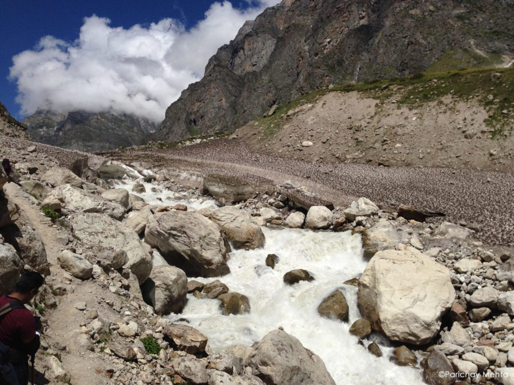 Swargrohini trek in the Himalayas