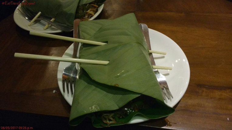 Noodles wrapped