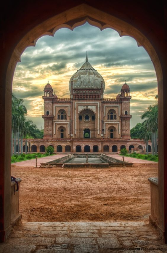 Golden Triangle Tour - Humayun Tomb