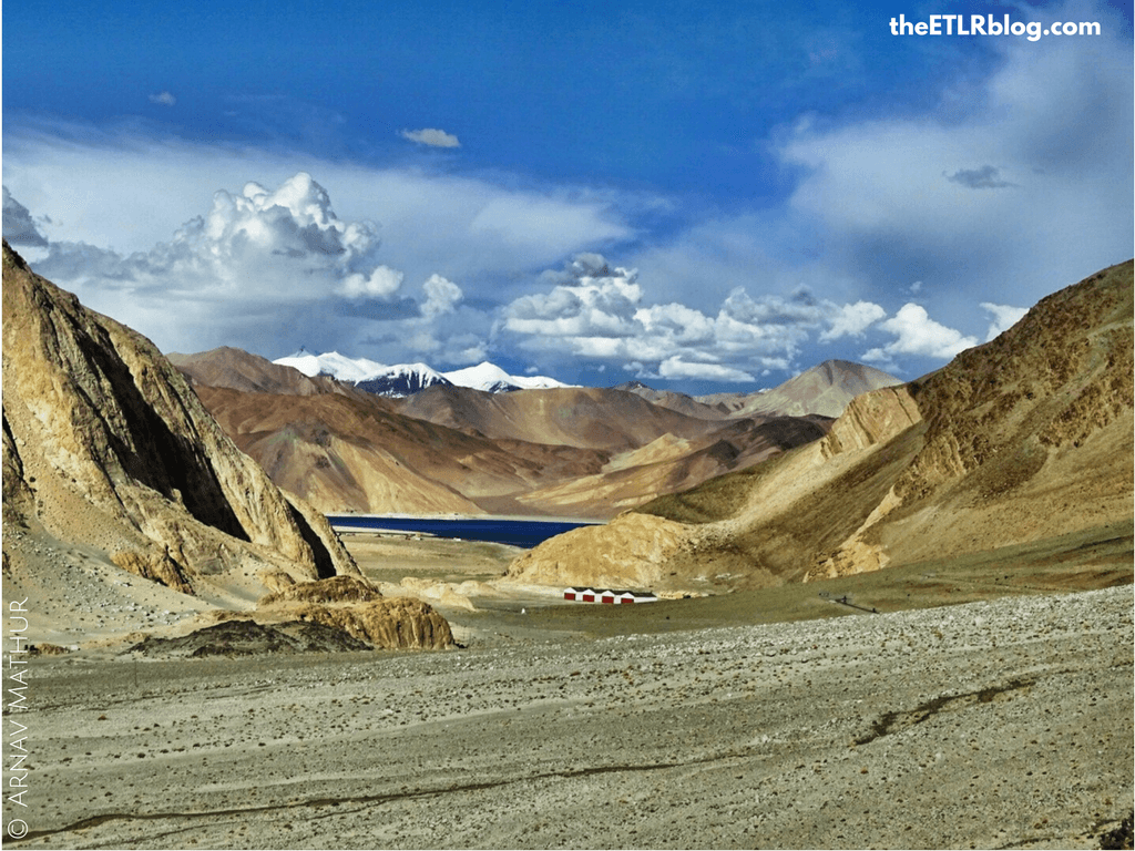 Photo Journey to Leh - Ladakh - first glimpse of Pangong Tso