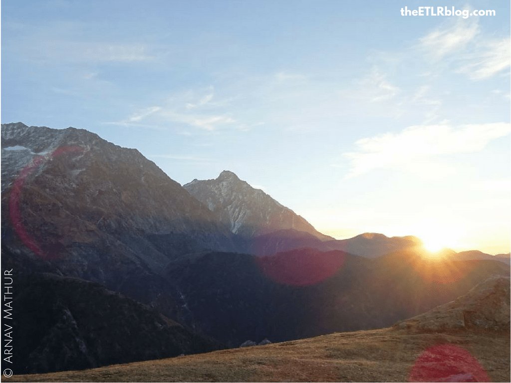 Sunrise from Triund, McLeodganj Cheap Weekend Trip