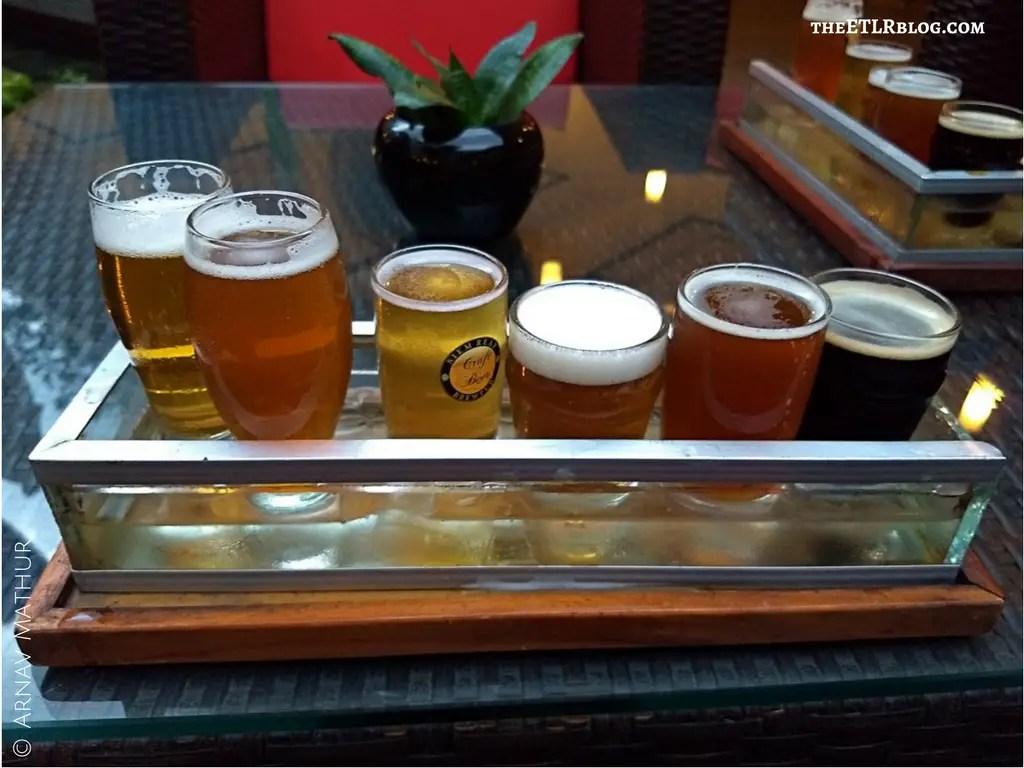 Beer Tasting Session Siem Reap Brew Pub Microbrewery