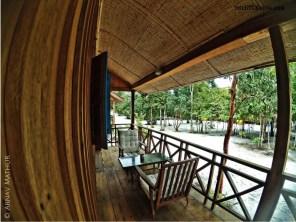 The cosy little verandah