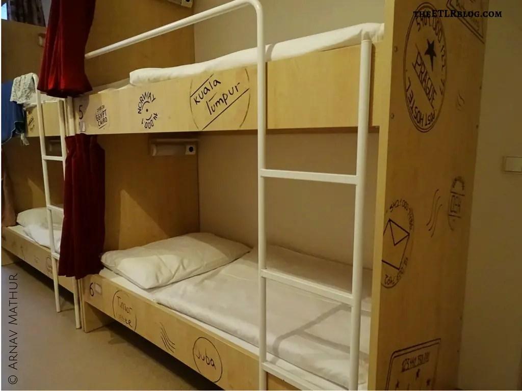 Bunk Beds Post Hostel Prague City Guide