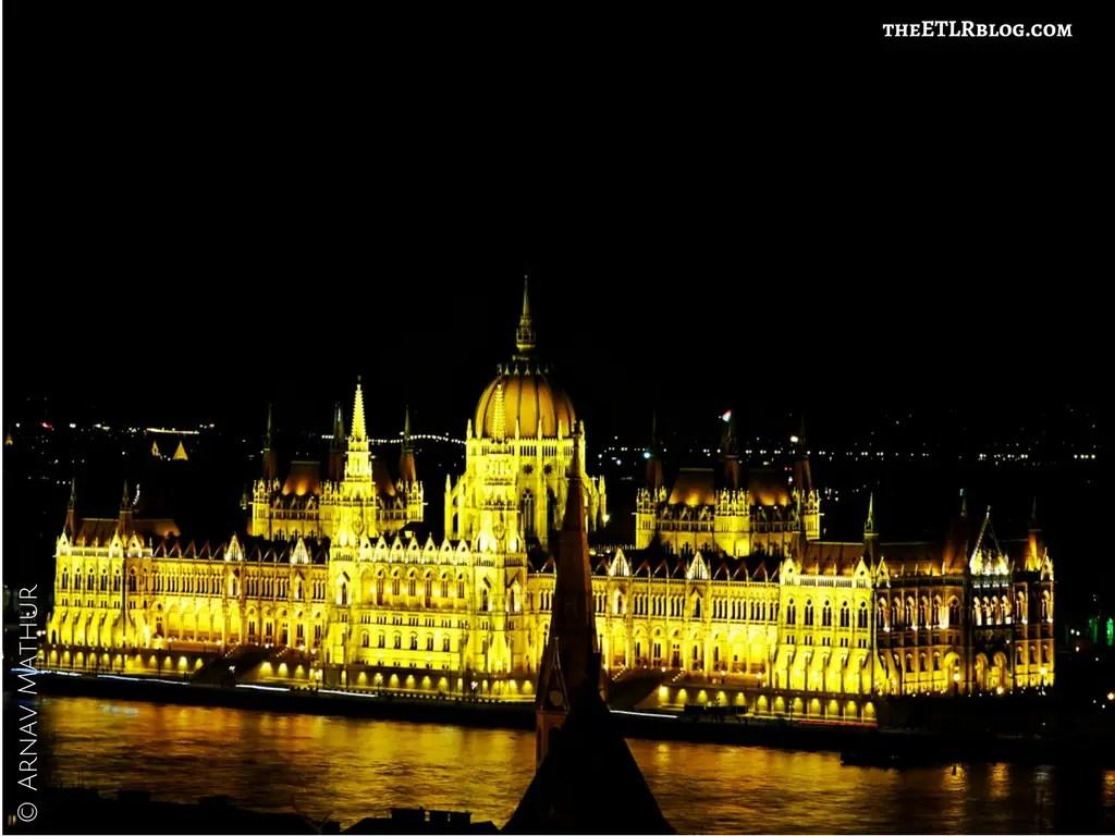 Hungarian Parliament Budapest Euro Trip theETLRblog