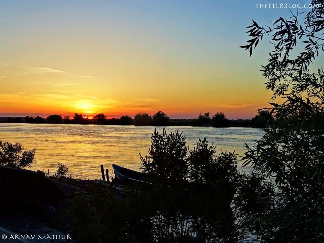 sunset time Experience Romania