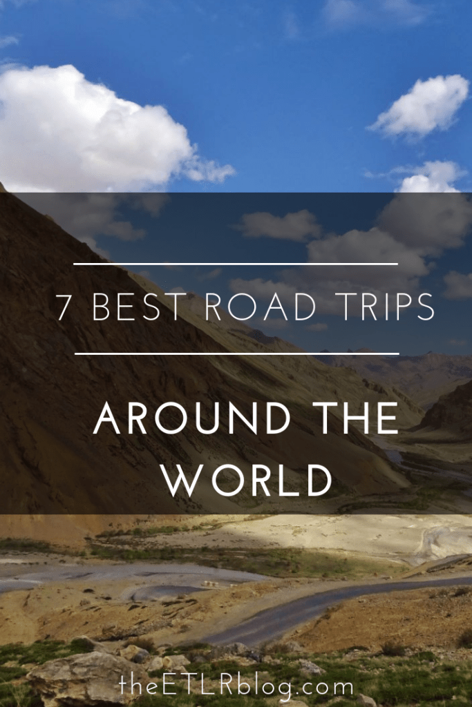 7 Best Road Trips Around The World #EatTravelLiveRepeat #travel #RoadTrips