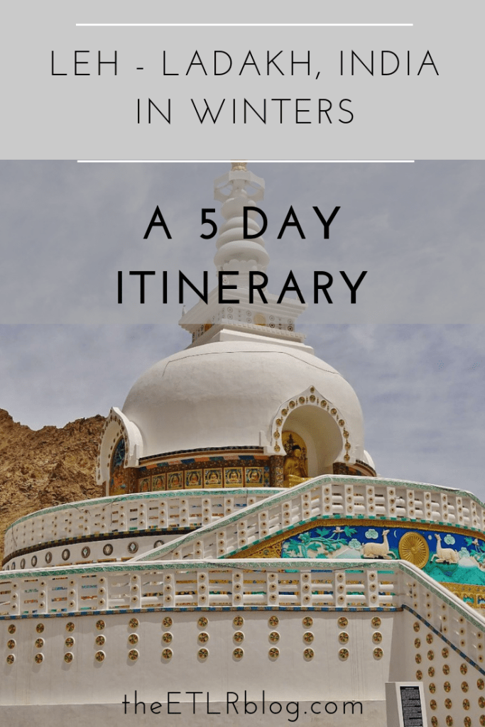 Leh Ladakh in Winters - A 5 Day Itinerary #India #Travel #HighOnHimalayas