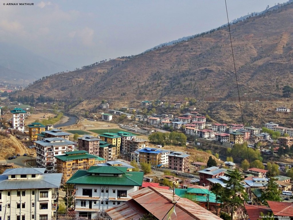 Thimphu city - 7 Day Road Trip to Bhutan
