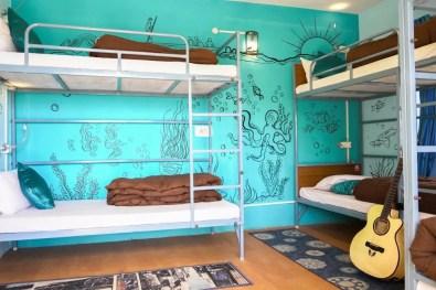 Dorms at The Bunker Hostel ©Karan Lakhmani