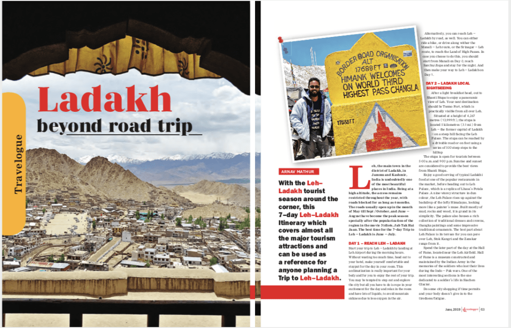 The 7 Day Leh Ladakh Road Trip Page 1