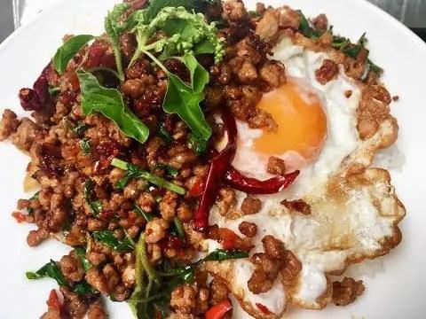 Stir Fried Basil - Chiang Mai - Thailand Food Guide