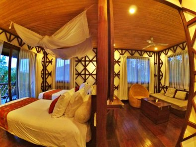 Our room at Viewpoint Ecolodge